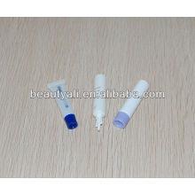 Tubo pequeno plástico do PE do diâmetro 13 para o empacotamento cosmético