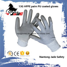 13G Gary PU Coated Safety Cut Handschuh Level Grade 3 und 5