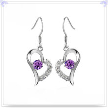 Fashion Jewelry Crystal Earring 925 Sterling Silver Jewelry (SE032)