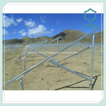 Aluminium Solar Panel Mounting Structure 6000 Series