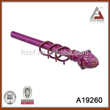 A19260Наш-образный карниз для штопора, головка стержня карнизов, крышки для штор