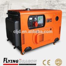 4kw / 5kva pequeños generadores silenciosos tipo diesel cerrado diesel precio barato