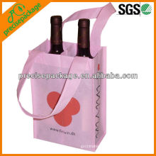 2 bottles wine carrying bag