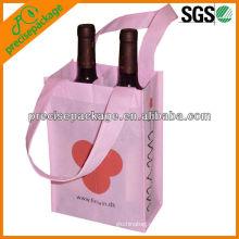 2 garrafas de transporte de vinho
