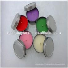 Bougies tealight fabrication carrée / fournisseur / vente en gros