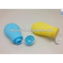 90ml garrafa de plástico shampoo cosméticos plásticos