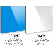 Aluminum Composite Panel 3mm Process Blue PE Core