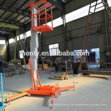 Elevador vertical do homem de 6m