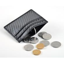 RFID blocking carbon fiber card holder wallet
