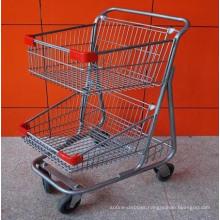 High Quality Supermarket Shopping Trolley, Shopping Cart Trolley