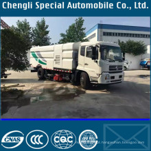 Deisel Engine Brand New Caminhão Clw Road Washer Sweeper Truck