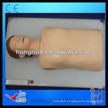 ISO Advanced Computer Maniquí de RCP de medio cuerpo, Maniquí de entrenamiento de primeros auxilios
