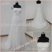 JJ2206 A-line Pictures of Wedding Dresses For Pregnant Women