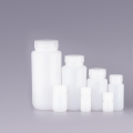 Белые круглые бутылки для хранения 8 мл
