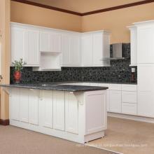 Armário de cozinha high shaker com design de bar