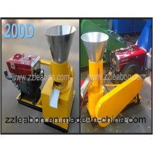 Kleine Diesel gefahrene Kahl-Kugel-Presse-Maschine / benutzter Pelletizer