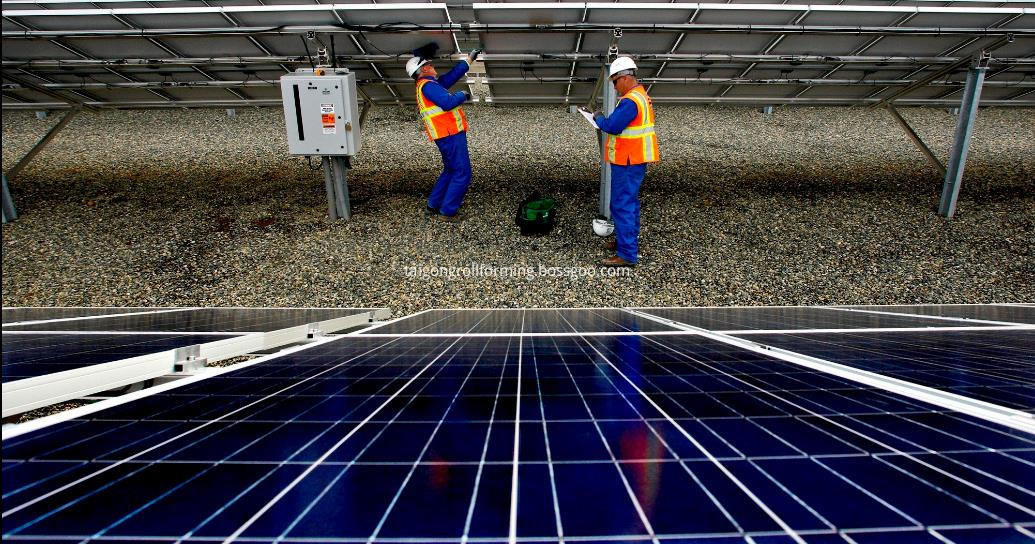 Solar PV Bracke Forming Machine