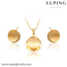 63344- Jóias Xuping Moda 2 peças Conjunto de Jóias em Latão com Boa Qualidade