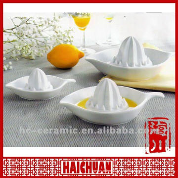 Ceramic lemon squeeze, lemon juice squeezer
