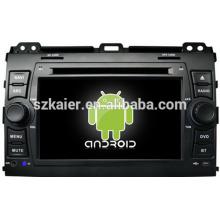 Contrôle intelligent HIFI android 4.2 voiture dvd pour Toyota Prado 120 avec GPS / Bluetooth / TV / 3G / WIFI