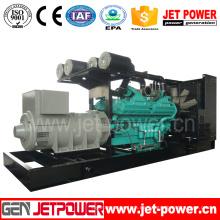 Generador diesel silencioso de 60Hz 600kw accionado por CUMMINS