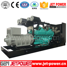 60Гц генератор 600kw Молчком Тепловозный приведенный в действие CUMMINS