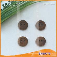 Botones de madera naturales para la prenda BN8007
