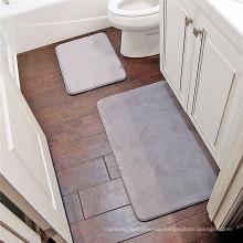 Memory foam custom size bath mat material