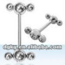 Wholesale multi ball cheap hammer tongue ring