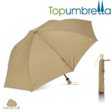 Personalizado de impresión especial de luz dos paraguas plegables Personalizado de impresión especial de luz dos paraguas plegables