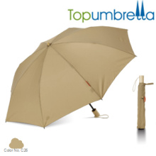 Impressão personalizada de luz especial dois guarda-chuvas dobráveis Impressão personalizada de luz especial dois guarda-chuvas dobráveis