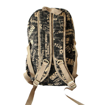 Specially High Density Thick Canvas Backpack