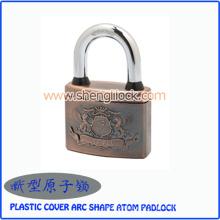 Top sécurité en plastique couvercle Arc forme Atom cadenas