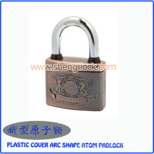 Top Security Plastic Cover Arc Shape Atom Padlock