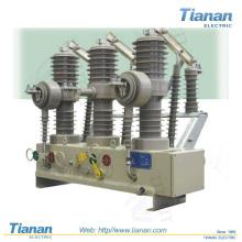 ZW32-12 / 24 de la serie de la columna al aire libre de alta tensión disyuntor de vacío