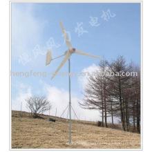 горизонтальные постоянного магнита ветротурбины 300W
