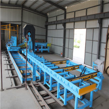 High speed laser logging line for sawmills