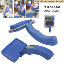 Plastic Pet Cleaning Pet Brush (YB72542)