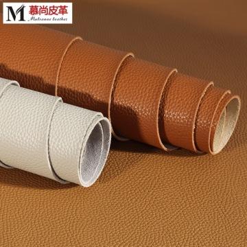 Litchi pattern Pu Leather