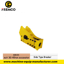 Easy Maintenance Hydraulic Breaker para construcción