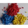 Granulado de fibra de vidro reforçada com poliamida 66