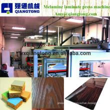 Máquina de impressão a quente de laminação automática com formato de madeira de ciclo curto