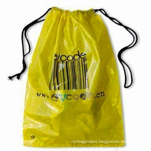 LDPE Drawstring Plastic Shoe Bag (HBPL-4)