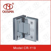 90 Degree Glass to Glass Zinc Alloy Shower Door Hinge (CR-Y19)