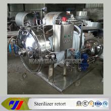 Récipient autoclave de chauffage électrique horizontal d'acier inoxydable
