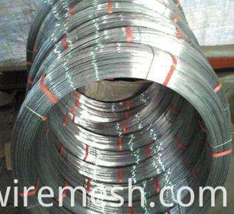 Economic and Efficient high carbon oval galvanized steel wire