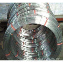 Economic high carbon oval galvanized wire