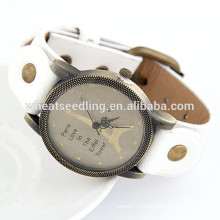 Eiffel Tower style all-match cortex cheap personalized photo watch