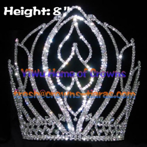8inch National Pageant Queen Crowns