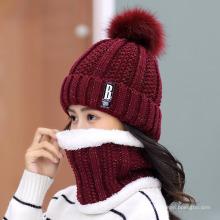 Hat Lady Winter Plus Plush Woolen Hat Ladies Autumn and Winter Knitting Hat Versatile Warmth